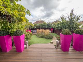 Urban Garden Design Essex Earth Designs Vườn thiền Pink