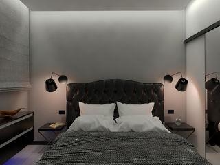 ULA architects غرفة نوم Black