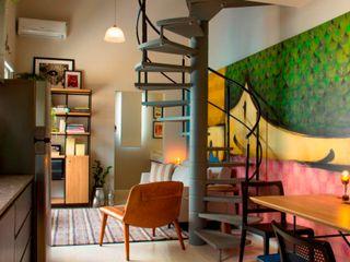 ArchDesign STUDIO Ruang Keluarga Modern