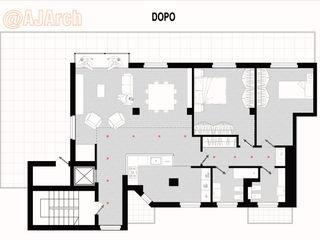 Planimetria di progetto Alessandro Jurcovich Architetto