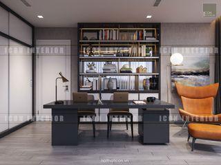 ICON INTERIOR Estudios y despachos de estilo moderno