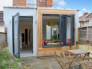 Theatre director's house in Clifton, Bristol Dittrich Hudson Vasetti Architects Zen garden