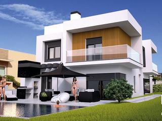 Moradia Unifamiliar T4@Lamego Factor4D - Arquitetura, Consultadoria & Gestão Moradias