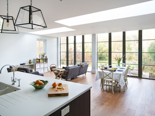 Erpingham Martins Camisuli Architects Built-in kitchens Wood Blue