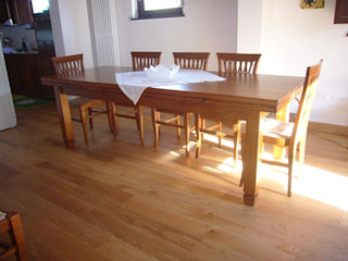 Gli Artigiani dei f.lli M.& S. Cordi snc Dining roomCrockery & glassware Wood
