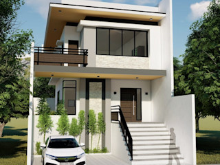 Proposed 2 Storey Zen Type Residence Yaoto Design Studio Minimalist houses