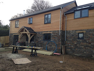 TIMBER CLADDING Building With Frames Wooden houses Wood