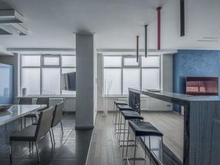 Irina Derbeneva Cucina minimalista Blu