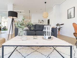 Become a Home Salas de estilo escandinavo