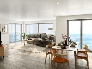 Island Reach Ruin Studio Modern Living Room