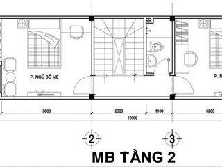 Công ty TNHH Xây Dựng TM – DV Song Phát Einfamilienhaus