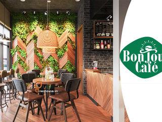 Mẫu Thiết Kế Quán Cafe BonJour Theo Phong Cách Pháp NEOHouse
