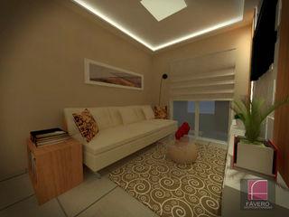 Fávero Arquitetura + Interiores Living room