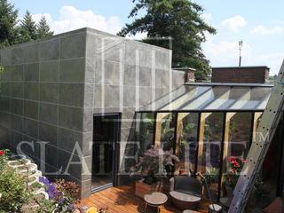 House Frame Wallpaper & Fabrics Oficinas y tiendas de estilo moderno