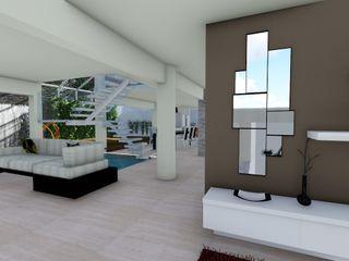 Quinta La Revoltosa Vida Arquitectura Salas de estilo moderno