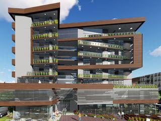 Edificio multifamiliar. Arquitectura Bioclimatica Vida Arquitectura Casas multifamiliares Madera