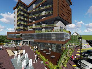 Edificio multifamiliar. Arquitectura Bioclimatica Vida Arquitectura Casas multifamiliares Hierro/Acero