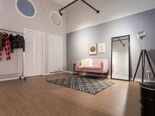 Studio Ideação Комерційні простори Дерево Рожевий