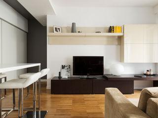 CAFFARELLA a2 Studio Borgia - Romagnolo architetti Soggiorno moderno
