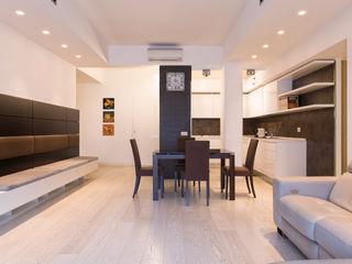 APPIO LATINO a2 Studio Borgia - Romagnolo architetti Soggiorno moderno