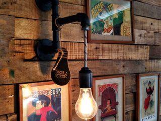 Lamparas Estilo Industrial Vintage Vieja Eddie Argentina Lamparas Vintage Vieja Eddie EstudioDecoración y accesorios Hierro/Acero Negro