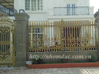 Hàng rào nhôm đúc đẹp Công ty cổ phần nhôm đúc Fuco