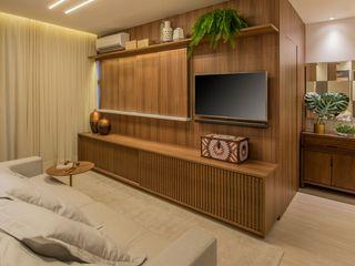 Paula Müller Arquitetura e Design de Interiores Living roomAccessories & decoration Wood Wood effect