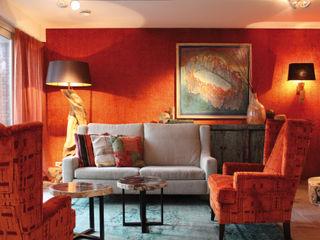 Alex Janmaat Interieurs & Kunst Living roomSofas & armchairs Orange
