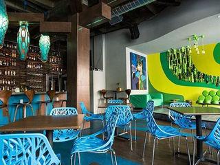 Supri Representações Nhà hàng Nhựa Multicolored