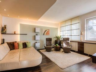 Gemütlicher und moderner Wohnbereich Horst Steiner Innenarchitektur Klassische Wohnzimmer