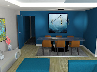 Anne Lapointe Chila Modern Dining Room