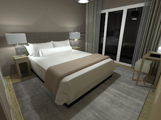 Anne Lapointe Chila Modern Bedroom