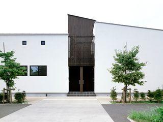 一級建築士事務所A-SA工房 Nhà có sân thượng Gỗ Wood effect
