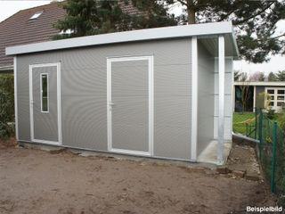Trapezblech Gonschior oHG Garden Shed Metal Grey