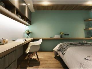 人文自然派的no. 229舍 喬克諾空間設計 Moderne Schlafzimmer