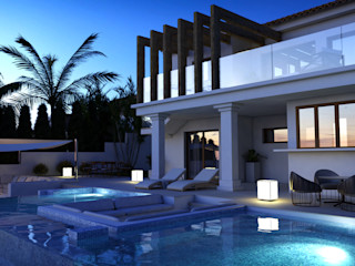 Expansion of villa in Rojales (Alicante) Pacheco & Asociados Classic style houses