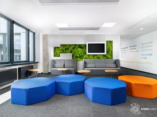SARNA ARCHITECTS Interior Design Studio Office buildings