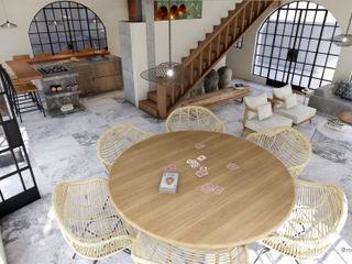 realizearquiteturaS Modern living room
