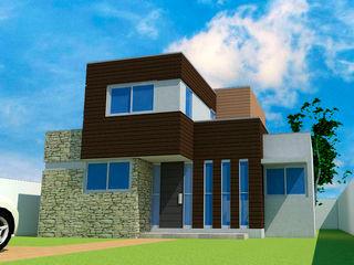 3 Viviendas para Condominio El Peumo DIMA Arquitectura y Construcción Casas de estilo mediterráneo