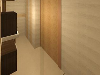 DISEÑO DE INTERIOR ESTUDIO KULUMAK Baños de estilo moderno Cerámico