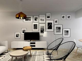 A Casa da Catarina e do Miguel Homestories Salas de estar escandinavas