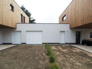 Fabrice Commercon 일세대용 주택 우드 화이트