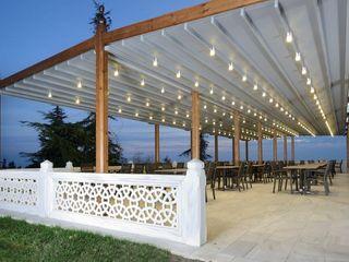 PERGOLA A.Ş. Commercial Spaces Wood Wood effect