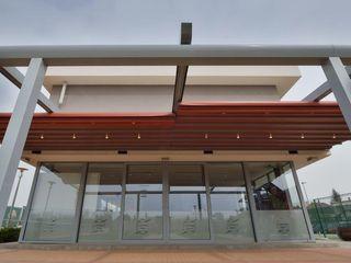 PERGOLA A.Ş. Khách sạn Gỗ-nhựa composite Grey