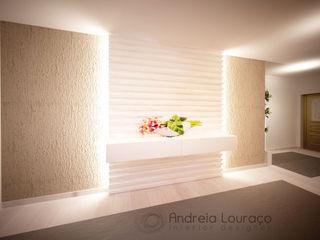 Andreia Louraço - Designer de Interiores (Email: andreialouraco@gmail.com) Pasillos, vestíbulos y escaleras de estilo moderno