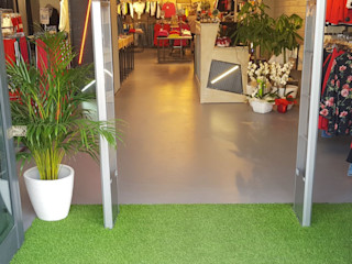 COVERMAX RESINE Office spaces & stores Grey