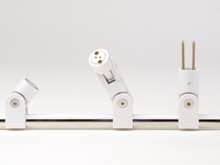 Glaxis betec Licht AG Modern walls & floors White
