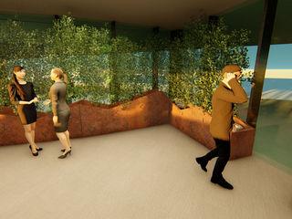 Pil Tasarım Mimarlik + Peyzaj Mimarligi + Ic Mimarlik Tropical style conservatory