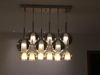 QBOID DESIGN HOUSE リビングルーム照明