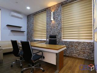 QBOID DESIGN HOUSE オフィスビル ブラウン